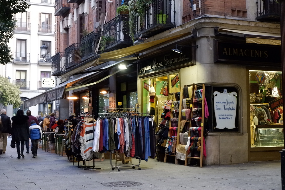 Things to do in Madrid in winter - shopping