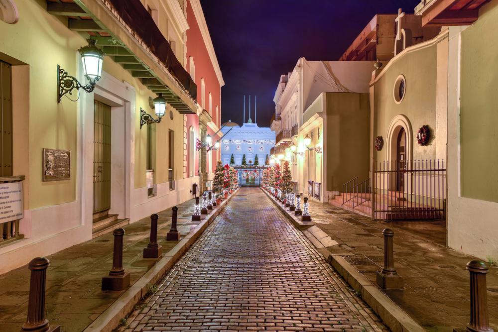 Calle Fortaleza in San Juan