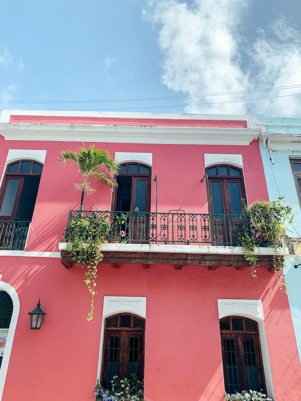 Colorful house in Old San Juan