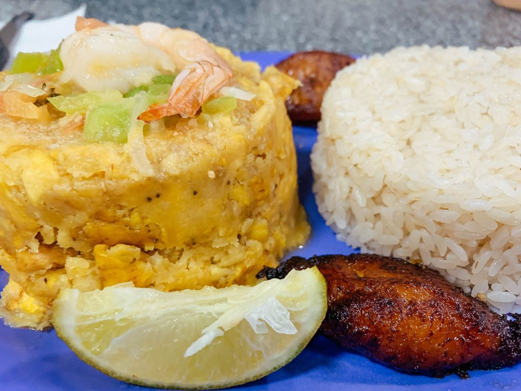 Mofongo in Old San Juan