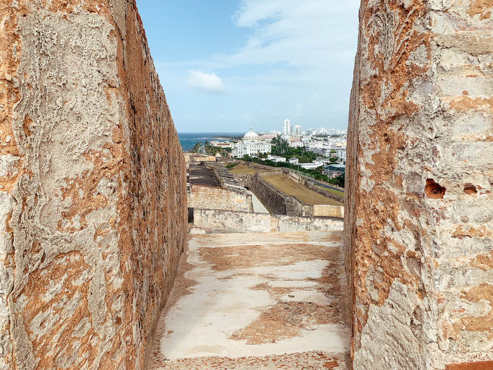 View of San Juan from Castillo San Cristobal