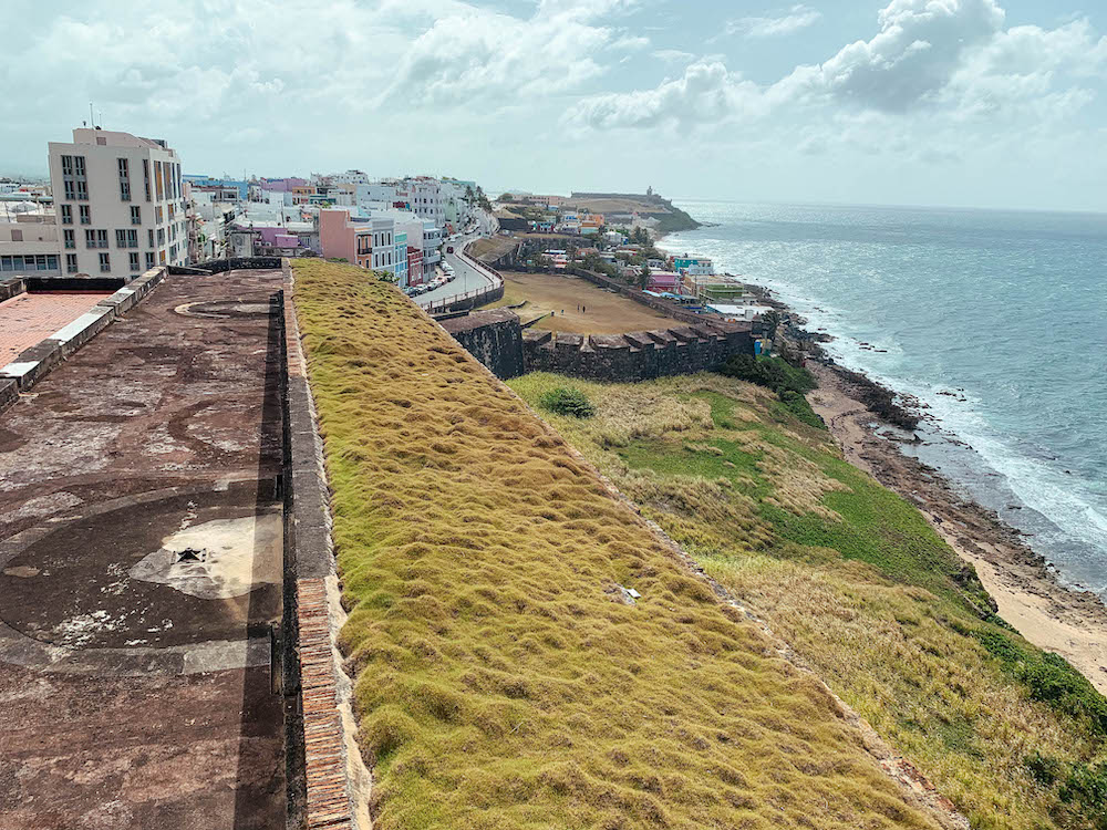 Views from Castillo San Cristobal
