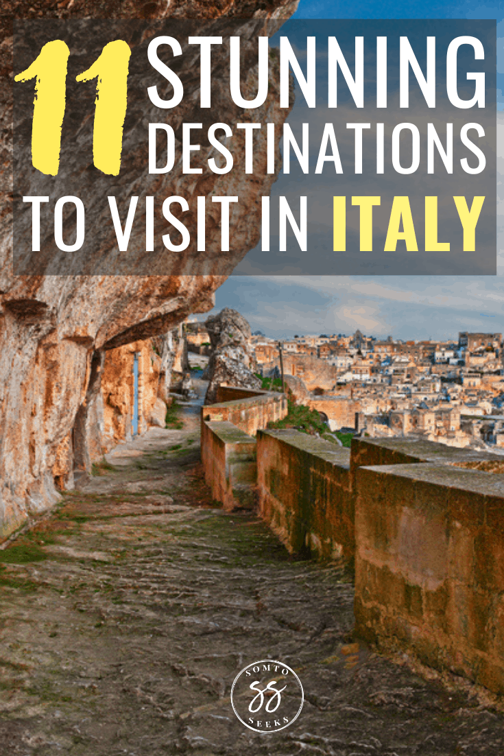 11 stunning destinations to visit in Italy