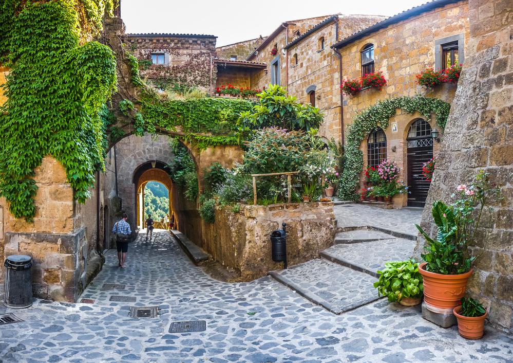 Civita di Bagnoregio in Lazio, Italy