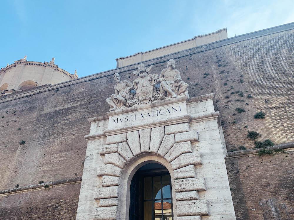 The Vatican Museum entrance
