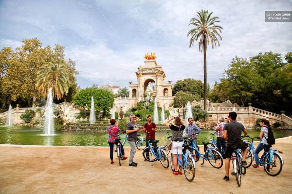 Barcelona bike tour - Parc de la Ciutadella
