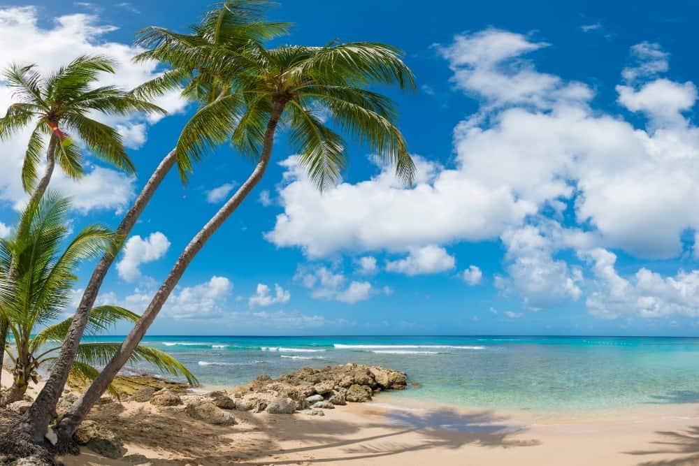 Crane Beach, Barbados, The Caribbean
