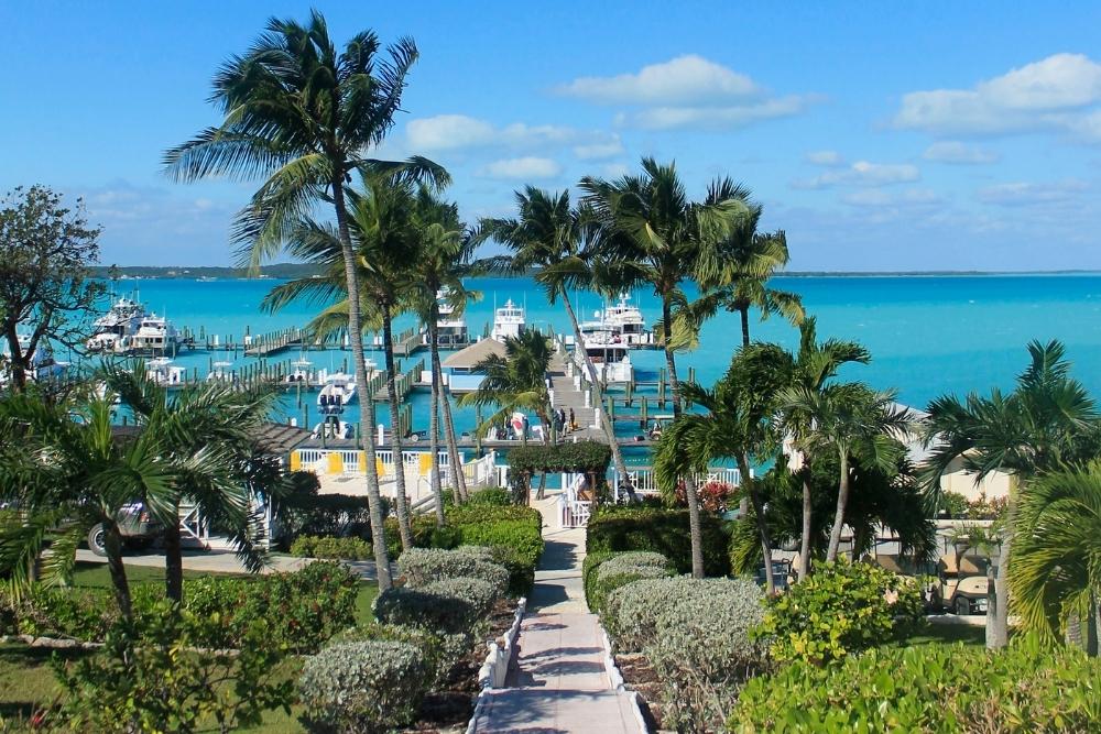 Marina at harbour island, Eleuthera, Bahamas